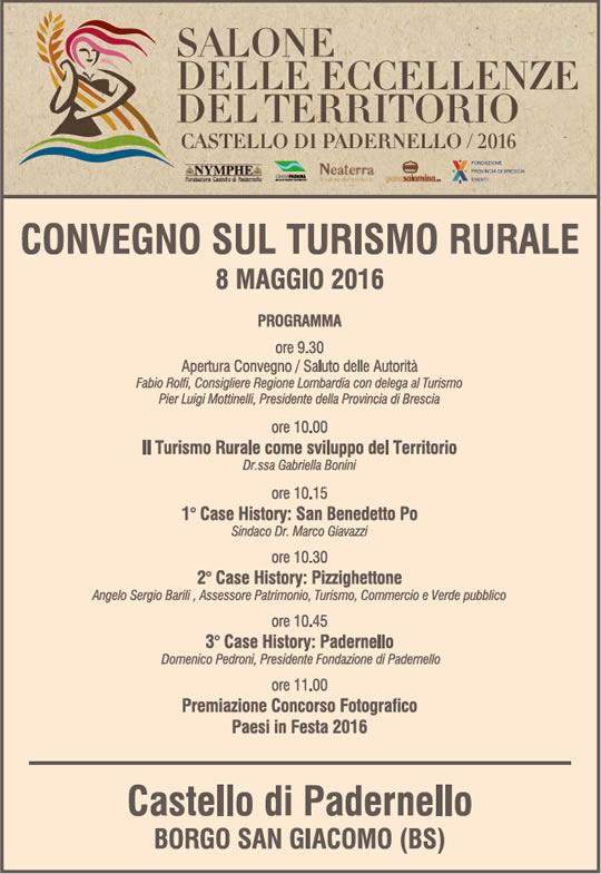 programma del convegno turismo rurale